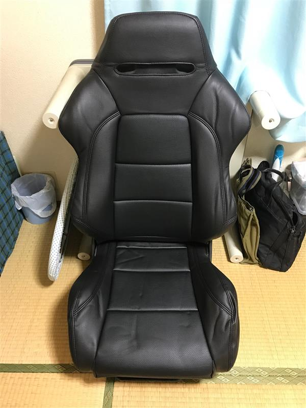 K'spec Artina レカロSR2用本革シートカバー