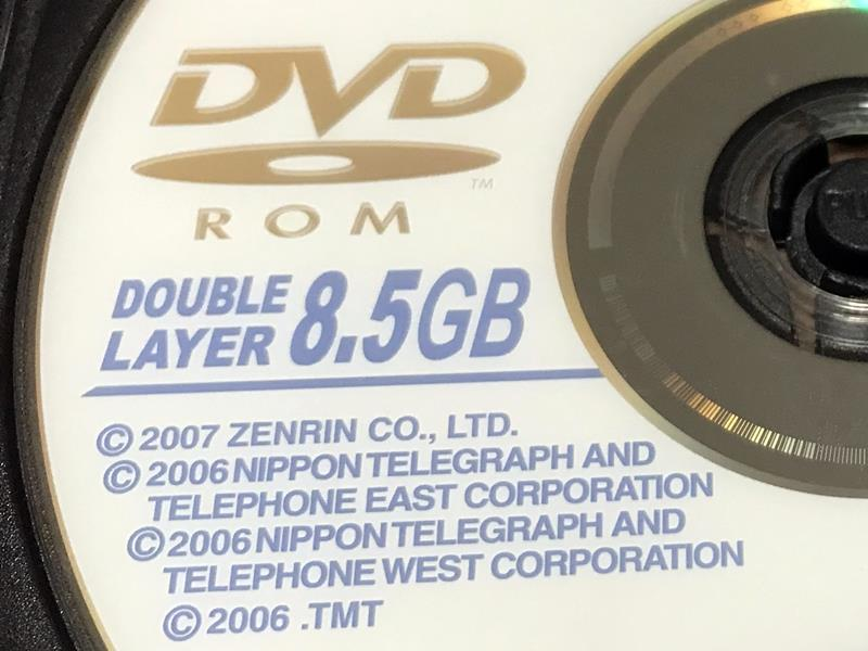 BMW(純正) DVDナビゲーションロム(最終2007年度版)