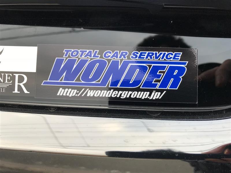 株式会社WONDER ステッカー