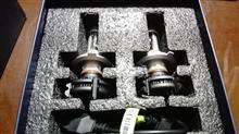 カムロードアマゾン H4 LEDバルブの全体画像