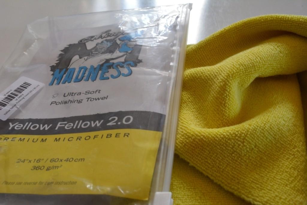 Microfiber Madness Yellow Fellow 2.0