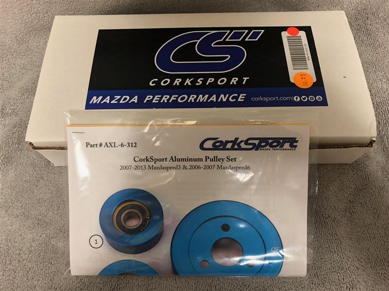 CorksSport Aluminum Pulley Set