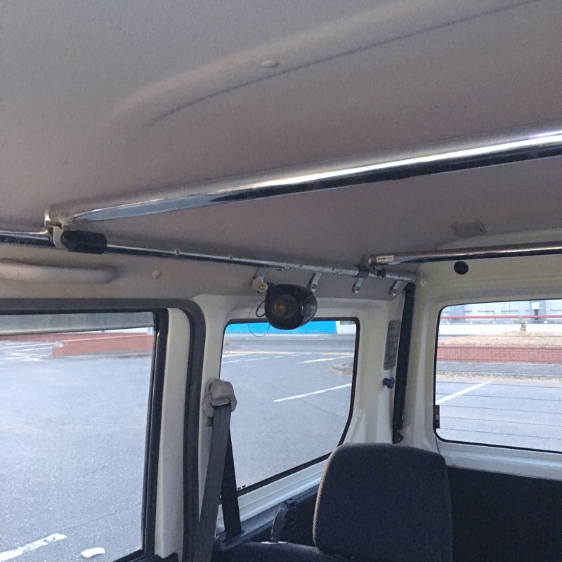 Modulo / Honda Access ルーフインナーサイドパイプ