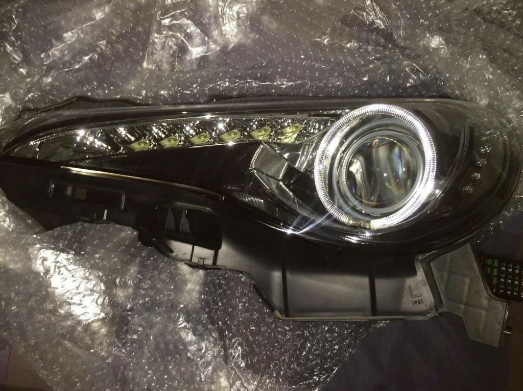 加工品 イカリングヘッドライト