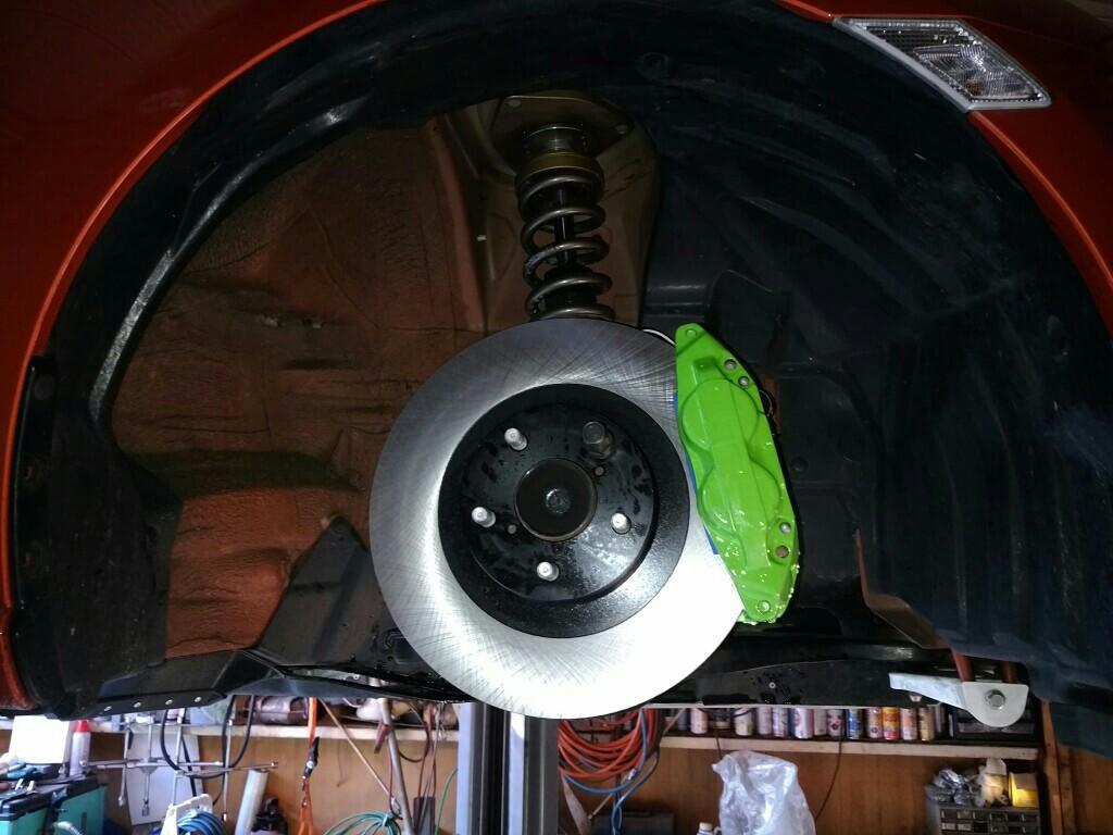 スバル純正 GC8用ブレーキキャリパー