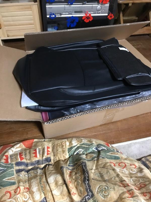 ヤフオク❣️ leather seat cover&HIKARI HID valve