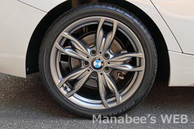 BMW Light Alloy Wheel M Double Spoke Styling 436, Ferricgrey