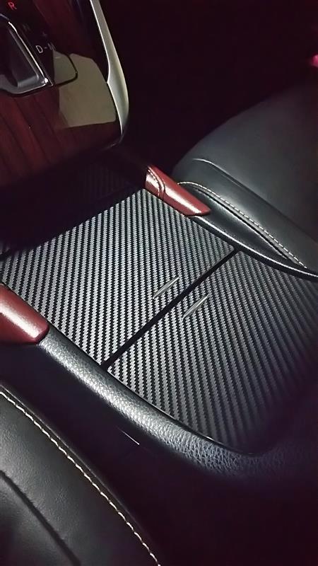 不明 3D リアルカーボンシート 黒