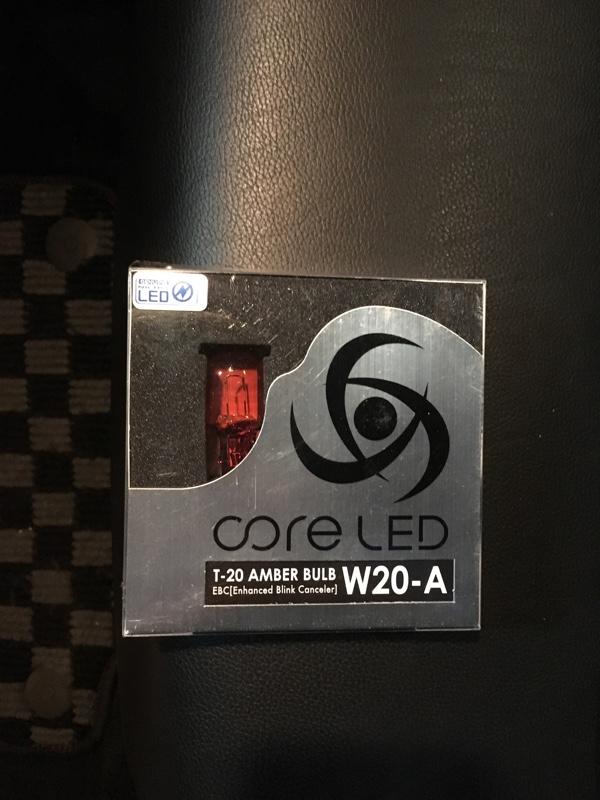 CORE LED リアウインカーバルブ