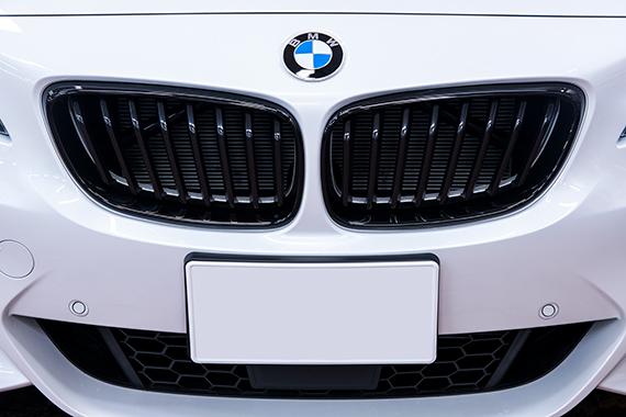 BMW AG MPerformanceブラックキドニーグリル