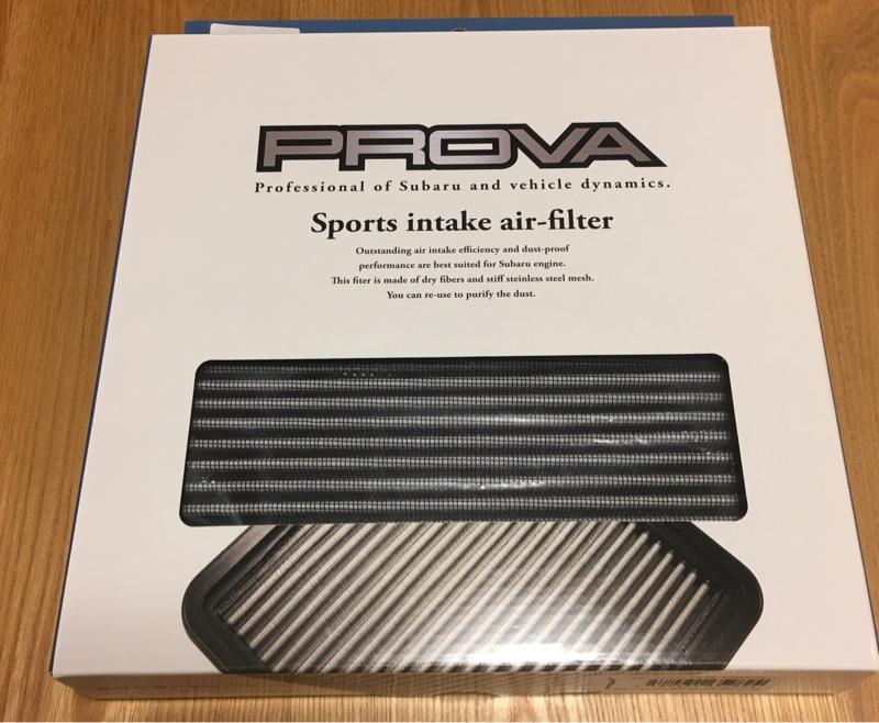 PROVA スポーツエアフィルタ
