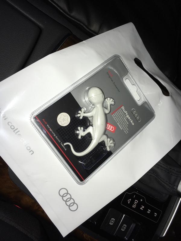 Audi純正(アウディ) Gecko デザイン フレグランス・ライトグレー