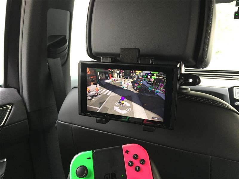 TUTUO 車載ホルダー ヘッドレスト Nintendo Switch NS022-BL