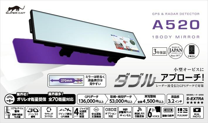 YUPITERU SUPERCAT A520