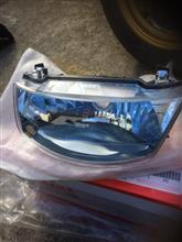 ジョグCE50ヤマハ(純正) ヘッドライト レンズ ブルーリフレクターの単体画像