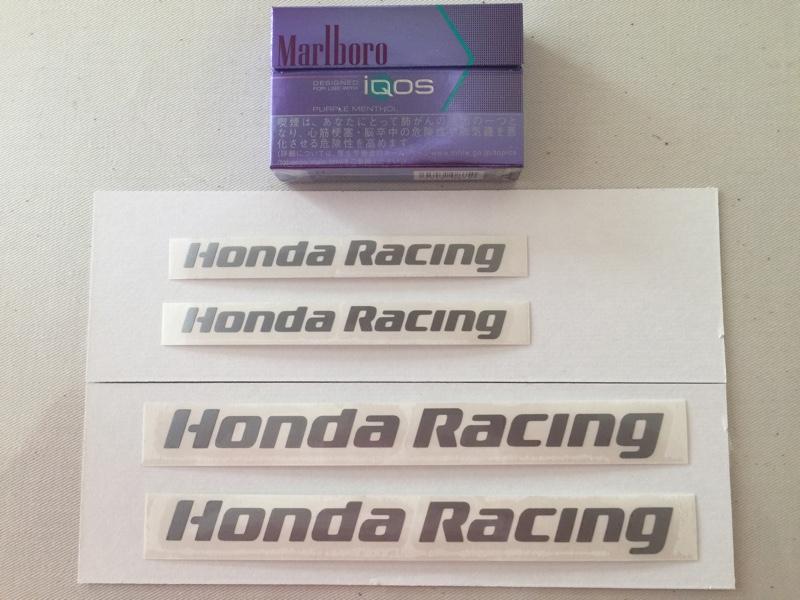 不明 HondaRacing ステッカー(^^)