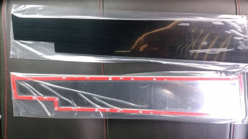 BRIGHTZ 超鏡面ブラックメッキピラーパネルカバー