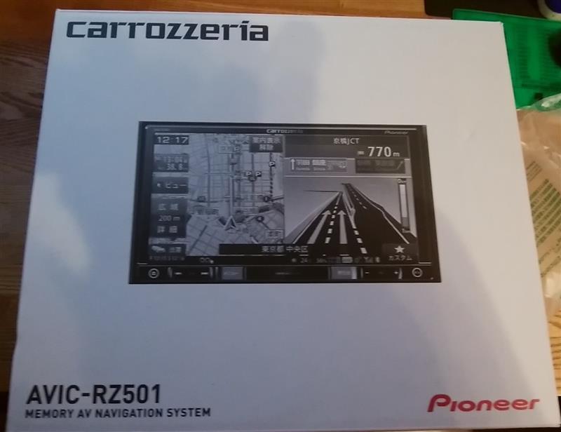 PIONEER / carrozzeria AVIC-RZ501