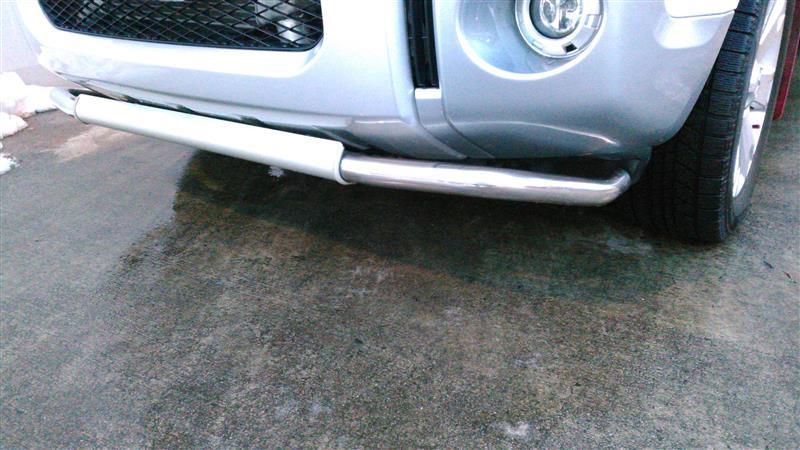 三菱自動車(純正) フロントアンダーガードバー