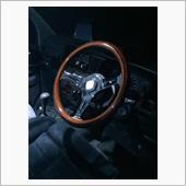 ナルディタイプ高級ウッドステアリング 高級ウッドステアリング35Φ