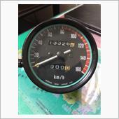 川崎重工(純正) Z250FT用スピードメーター(純正)