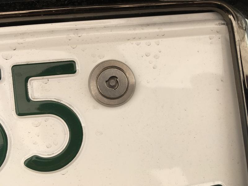 CAR MATE / カーメイト セキュリティボルト フラット2