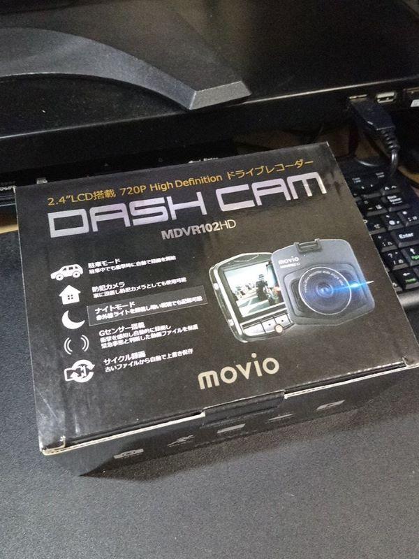 movio DASH CAM MDVR102HD