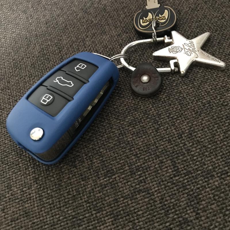 KEYART Audi Leather Key Cover