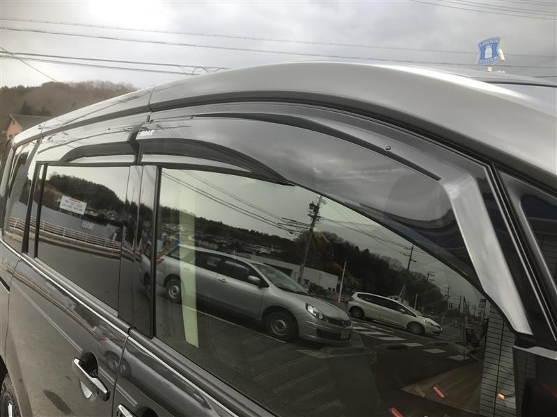ROAR / 三菱自動車カーライフプロダクツ エアロバイザー