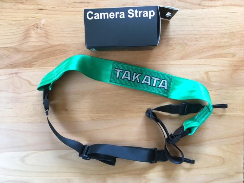 TAKATA カメラストラップ