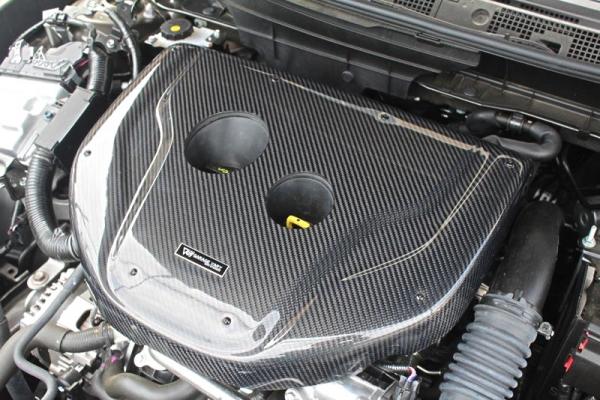 GARAGE VARY VALIANT カーボン製エンジンフードカバー
