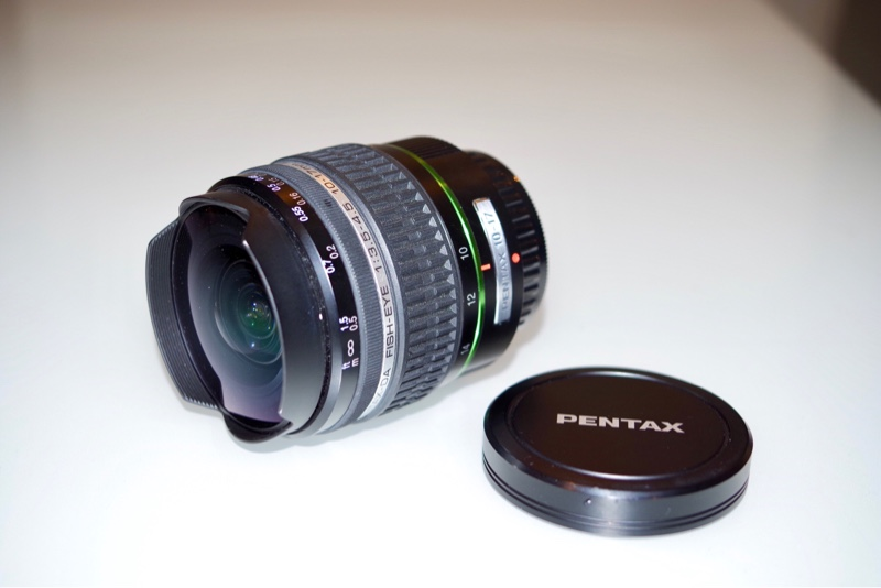 PENTAX DA FISH-EYE 10-17mm F3.5-4.5ED