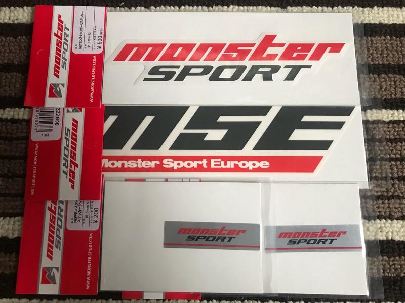 MONSTER SPORT / TAJIMA MOTOR CORPORATION MSEステッカー