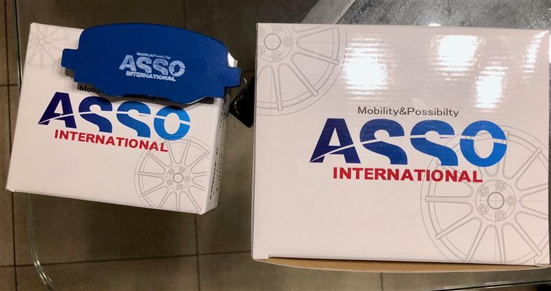 ASSO INTERNATIONAL ASSOオリジナルリプレイスメント ストリートパット