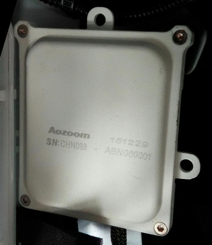 Aozoom 55W HIDバルブ&バラストセット