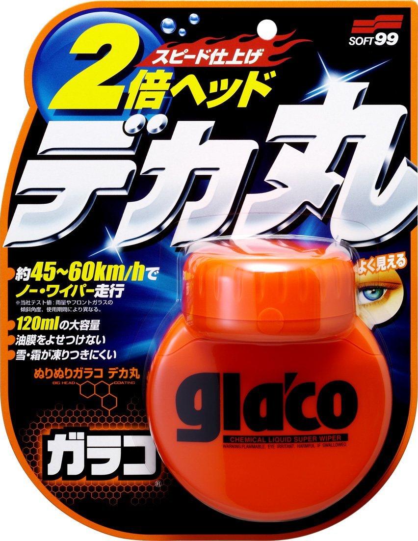 SOFT99 glaco ぬりぬりガラコ デカ丸