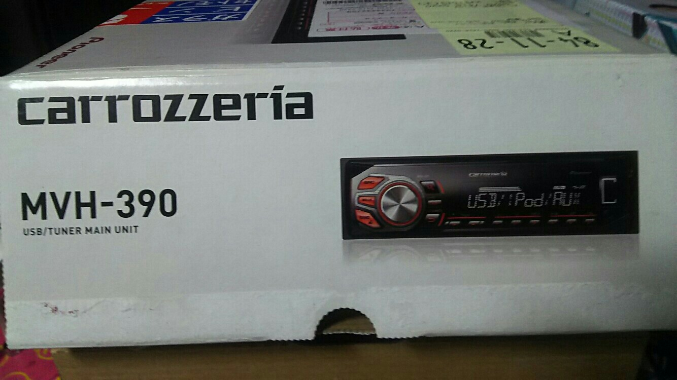 PIONEER / carrozzeria MVH-390
