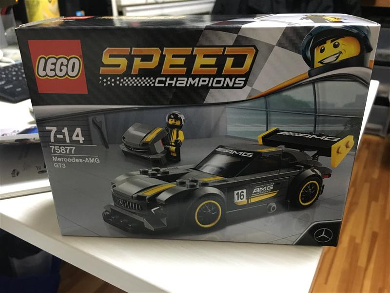 LEGO SPEED  CHAMPIONS   Mercedes-AMG-GT3