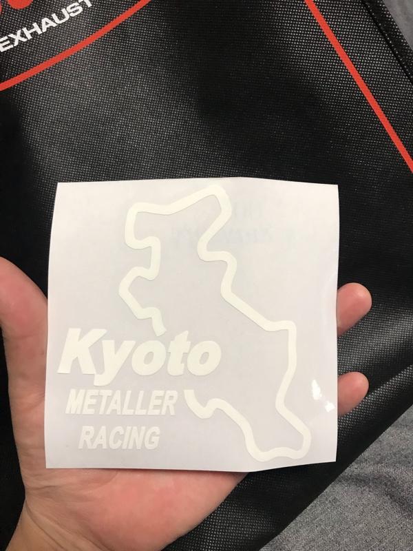 なま工房 METALLER RACING ステッカー