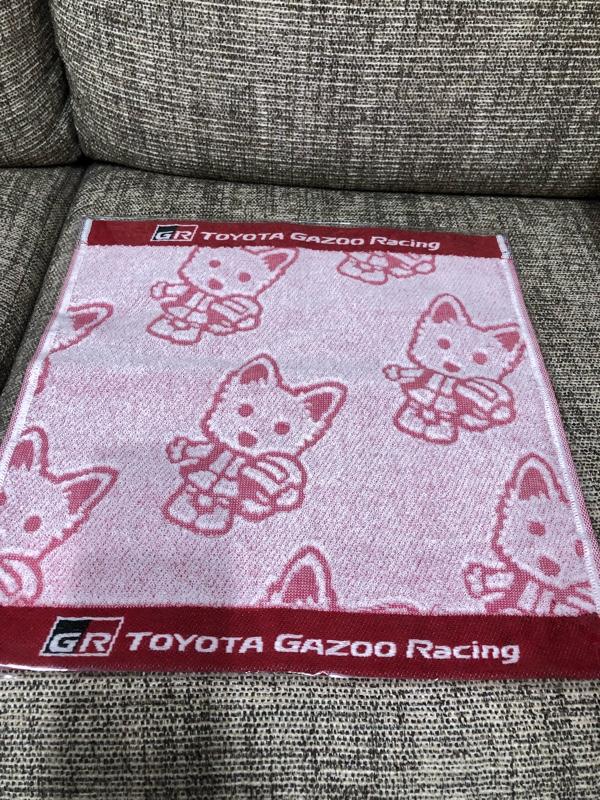 TOYOTA GAZOO Racing TGRハンドタオル(ルーキー)