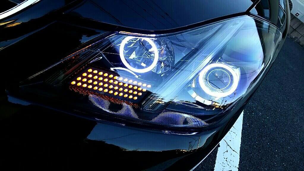 Luminous-nmt 200 クラウン カスタム LED ヘッドライト