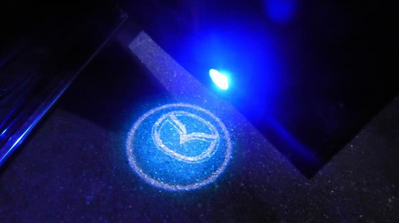 メーカー・ブランド不明 超小型防水エンブレム プロジェクターLED投影ライト