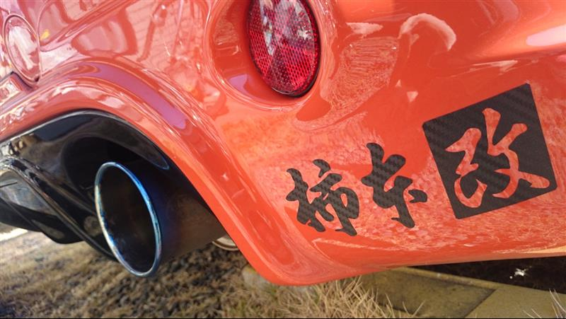 KAKIMOTO RACING / 柿本改 GTbox06&S
