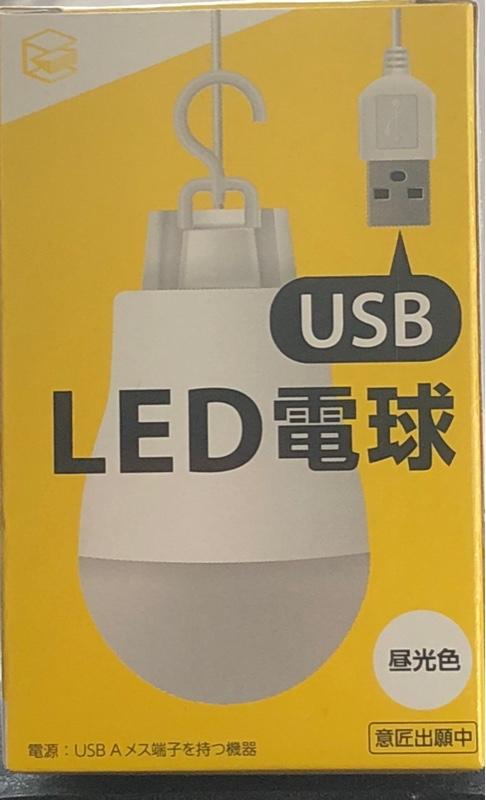 E Core USB LED電球