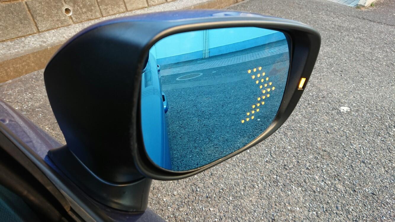 AXIS-PARTS LEDウィンカー付 ドアミラー