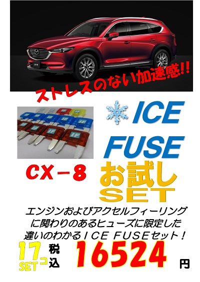 AQUA CX-8用 アイスヒューズ お試しセット