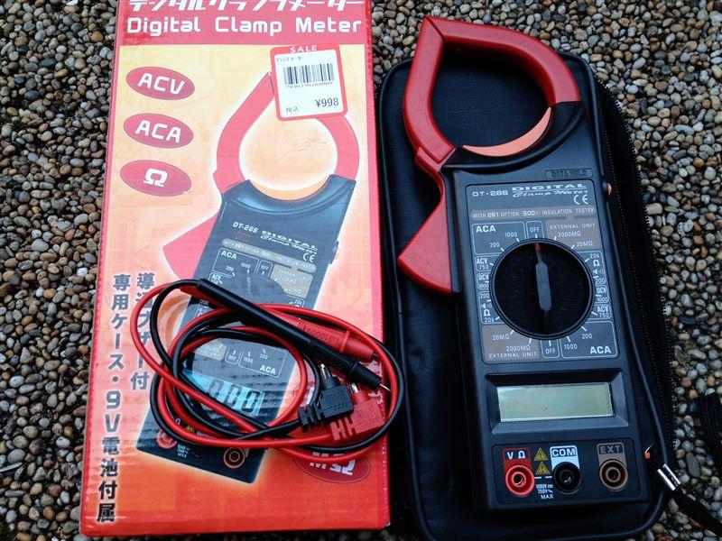 メーカー・ブランド不明 デジタルクランプメーター DT-266
