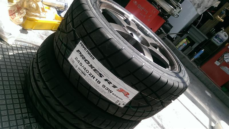 TOYO TIRES PROXES PROXES R1R 245/40ZR18
