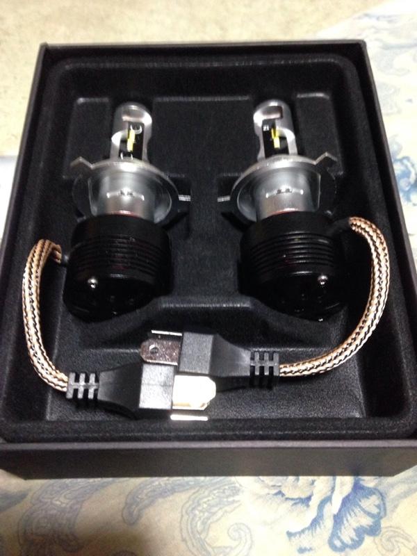 SANLIGHT 9005 LED ヘッドライト