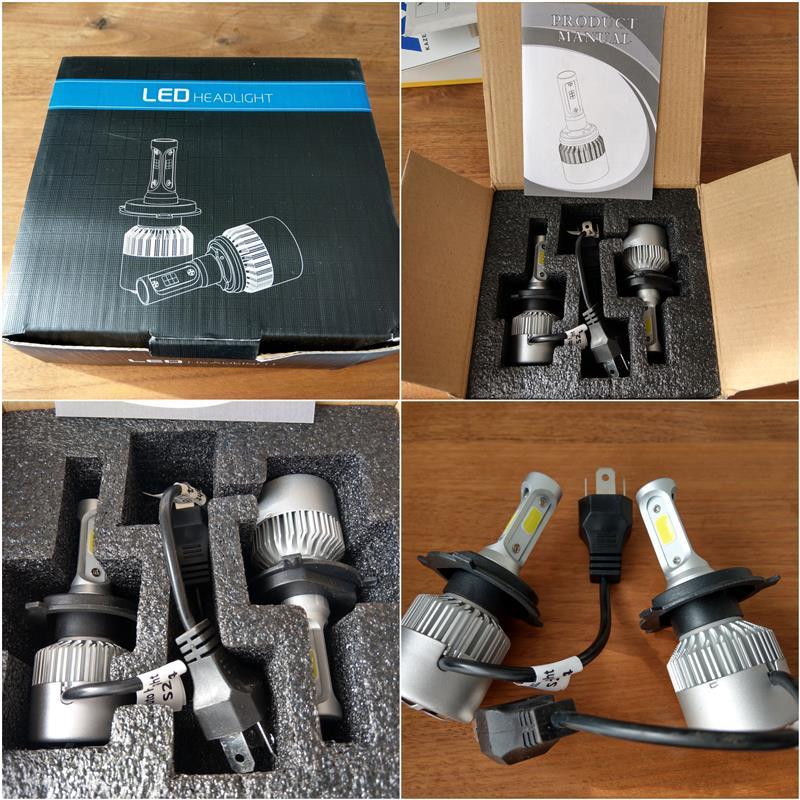 wish LED ヘッドライトバルブ H4